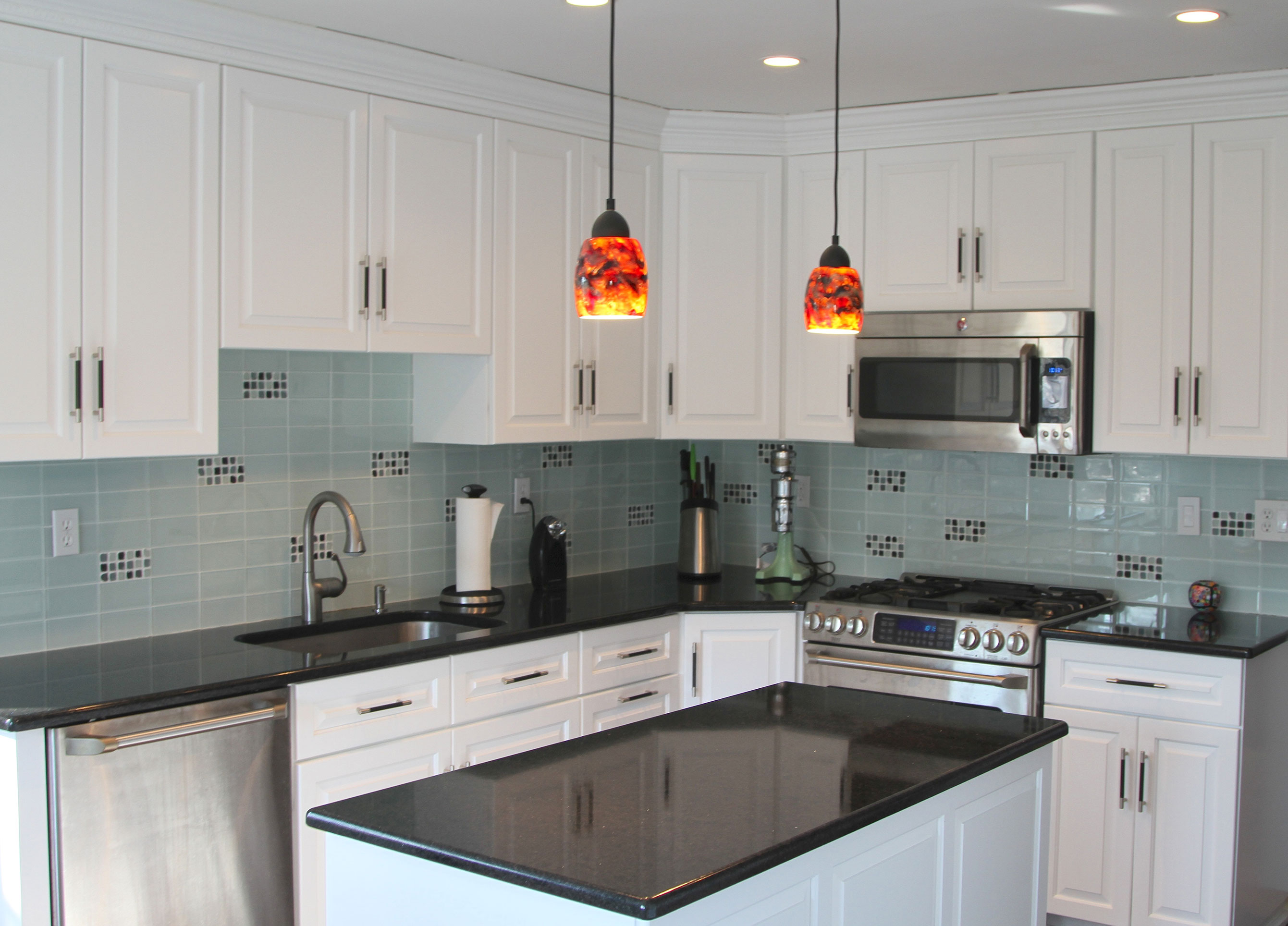 finished countertops, countertop layout